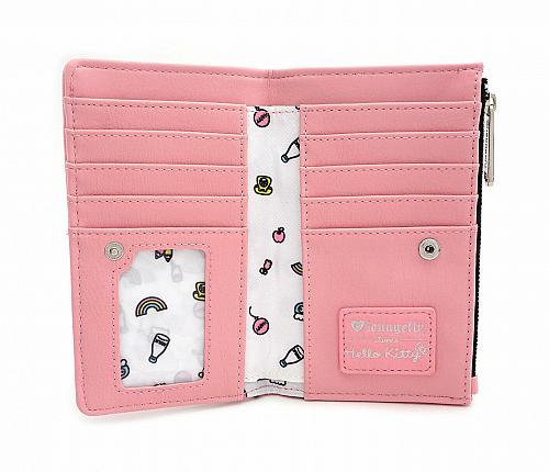 New Loungefly x Hello Kitty Telephone Bifold Wallet Free Shipping