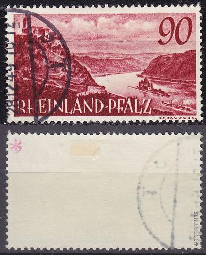 GERMANY Alliiert Franz. Zone [RheinlPfalz] MiNr 0041 y ( O/used ) [01] geprüft