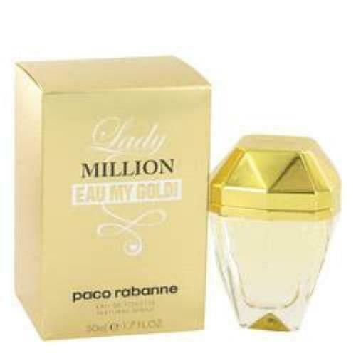 Lady Million Eau My Gold Eau De Toilette Spray By Paco Rabanne