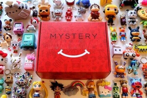 New Mystery Box crate Kidrobot Medicom Toy Tokidoki Funko figurine Free Shipping