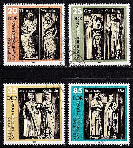 GERMANY DDR [1983] MiNr 2808-11 ( OO/used )