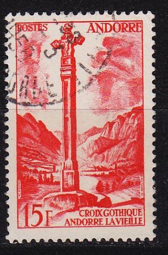 ANDORRA FRANZÖSISCH [1955] MiNr 0150 ( O/used )