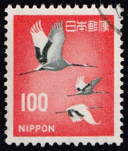 Japan #888A Cranes; Used (4Stars)  JPN0888A-13XVA