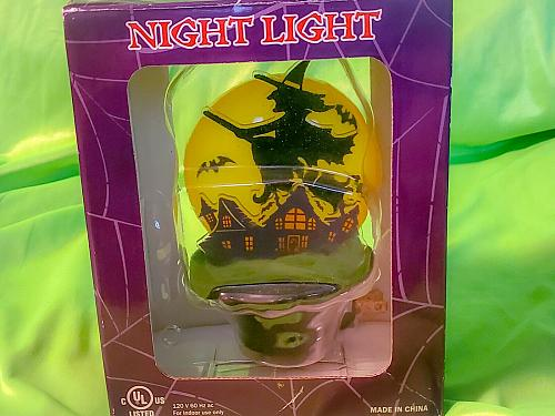 Brand New Halloween Night Lights 2 Pc Set