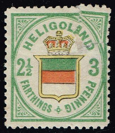 Heligoland #20 Coat of Arms - Hamburg Reprint (0Stars)  HEL20R-02XRS