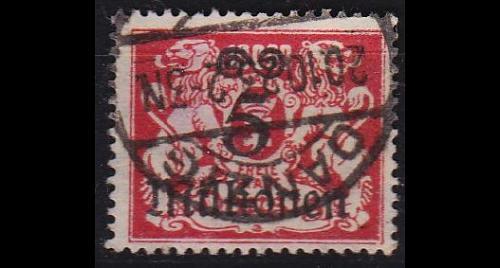 GERMANY REICH Danzig [1923] MiNr 0167 ( OO/used )