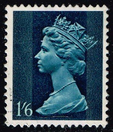 Great Britain #MH16 Machin Head; Used (0.60) (3Stars) |GBRMH016-05XBC