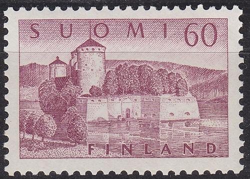 FINLAND SOUMI [1957] MiNr 0475 ( **/mnh ) Architektur