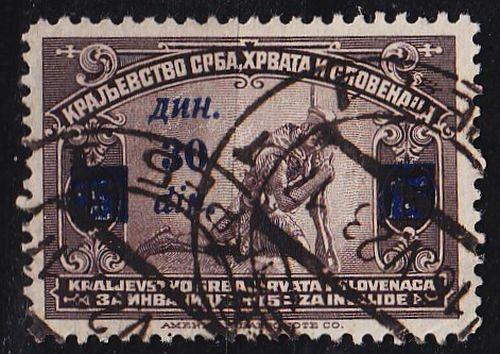 JUGOSLAVIA [1922] MiNr 0168 ( O/used )