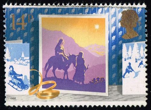 Great Britain #1234 Journey to Bethlehem; Used (0.25) (3Stars) |GBR1234-04XVA