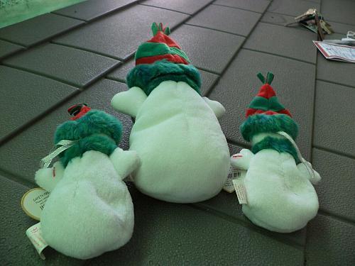 2000 Ty Snow Girls Beanie Babies