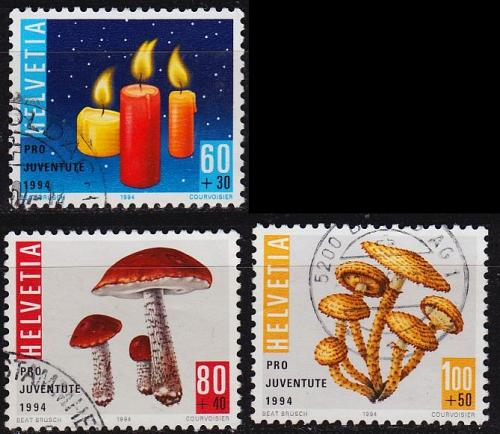 SCHWEIZ SWITZERLAND [1994] MiNr 1536 ex ( O/used ) Pflanzen