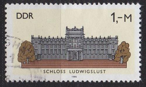 GERMANY DDR [1986] MiNr 3035 ( OO/used ) Architektur