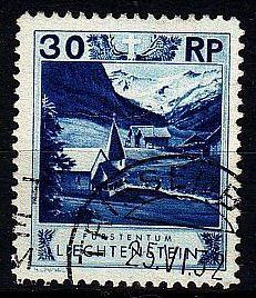 LIECHTENSTEIN [1930] MiNr 0099 B ( O/used )