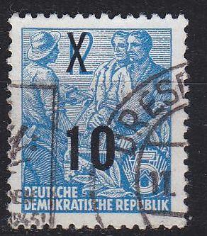 GERMANY DDR [1954] MiNr 0437 I g ( OO/used )