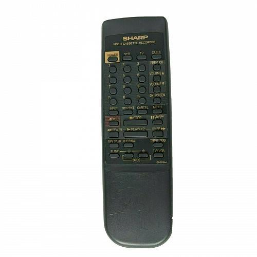 Genuine Sharp TV VCR Remote Control G0003AJ