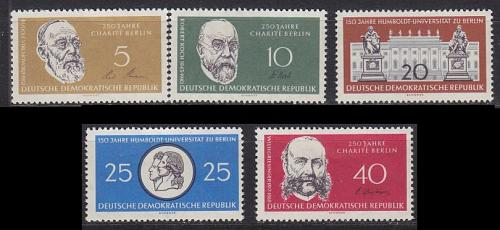 GERMANY DDR [1960] MiNr 0795-99 ( **/mnh )