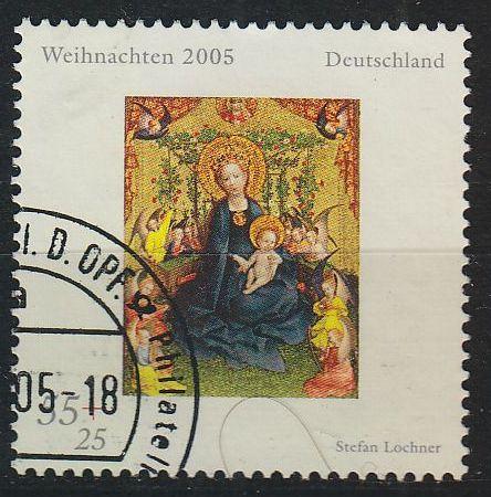 GERMANY BUND [2005] MiNr 2493 ( O/used ) Weihnachten