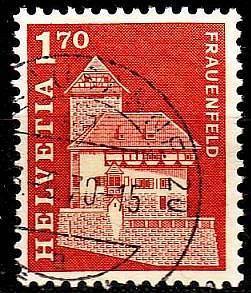 SCHWEIZ SWITZERLAND [1966] MiNr 0832 ( O/used ) Architektur
