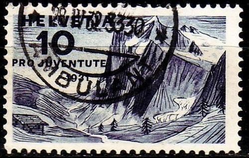 SCHWEIZ SWITZERLAND [1931] MiNr 0247 ( O/used ) Pro Juventute