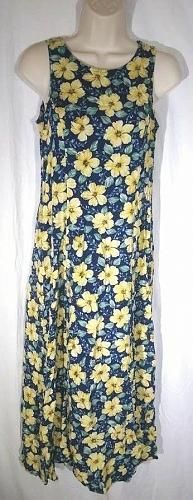 My Michelle Women's Sleeveless Summer Dress Size 9/10 Floral Pattern
