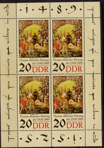 GERMANY DDR [1989] MiNr 3271 KB ( **/mnh )