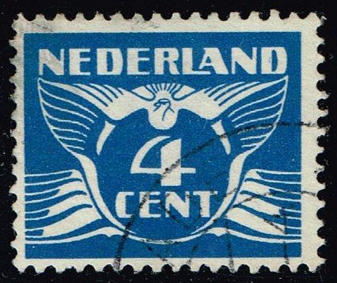 Netherlands #171 Gull; Used (3Stars)  NED0171-04XRS