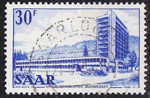GERMANY Saar [1952] MiNr 0332 ( O/used )