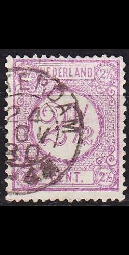 NIEDERLANDE NETHERLANDS [1876] MiNr 0033 a C ( O/used )