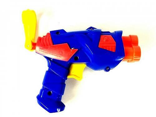 Buzz Bee Mini 3 Dart Rotating Blaster Foam Dart Toy Gun