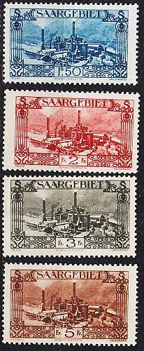 GERMANY Saar [1926] MiNr 0108 ex ( */mh ) [01]