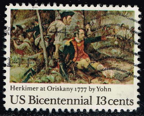 US #1722 Battle of Oriskany; Used (0.25) (2Stars) |USA1722-11