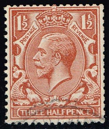 Great Britain #189 King George V; Used (1.10) (2Stars)  GBR0189-09XRS