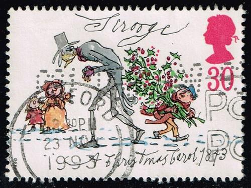 Great Britain #1530 Scrooge; Used (0.85) (3Stars) |GBR1530-02XVA