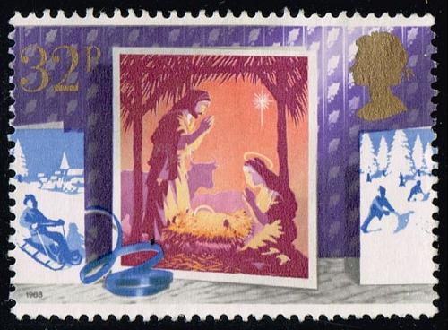 Great Britain #1237 Nativity; Used (0.95) (3Stars)  GBR1237-02XVA