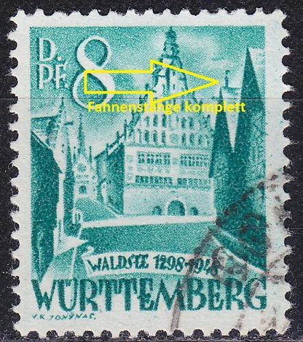 GERMANY Alliiert Franz. Zone [Württemberg] MiNr 0016 y I ( O/used )