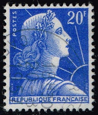 France #755 Marianne; Used (3Stars) |FRA0755-07