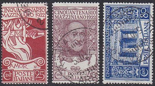 ITALIEN ITALY [1922] MiNr 0157-59 ( O/used ) [02]