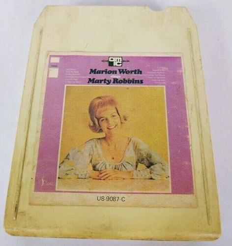 Marion Worth Sings Marty Robbins (8-Track Tape, U8-9087-C)