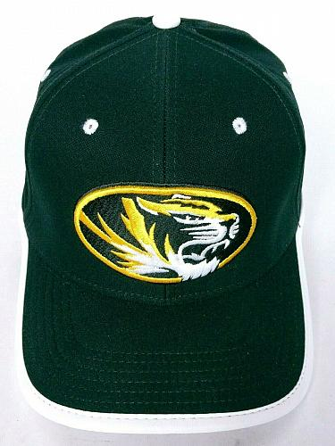 Mizzou Tigers University Of Columbia Men's Nike Black White Strapback Hat