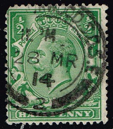 Great Britain #159 King George V; Used (1.10) (2Stars) |GBR0159-05XRS