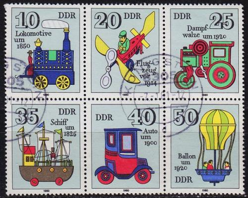 GERMANY DDR [1980] MiNr 2566-71 6er ( OO/used )
