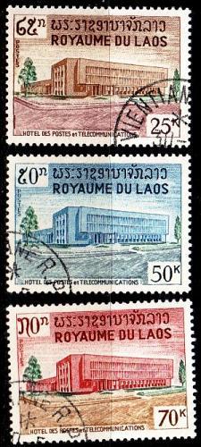 LAOS [1967] MiNr 0204-06 ( O/used )