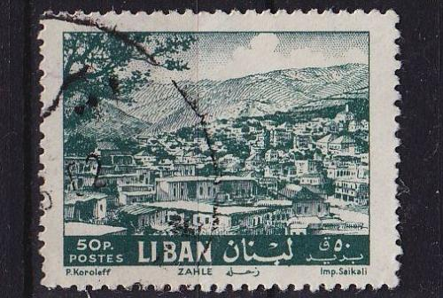 LIBANON LEBANON LIBAN [1961] MiNr 0739 ( O/used )