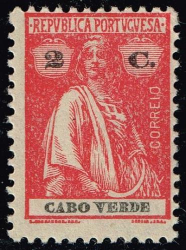 Cape Verde #177 Ceres; Unused (2Stars) |CPV0177-02XRS