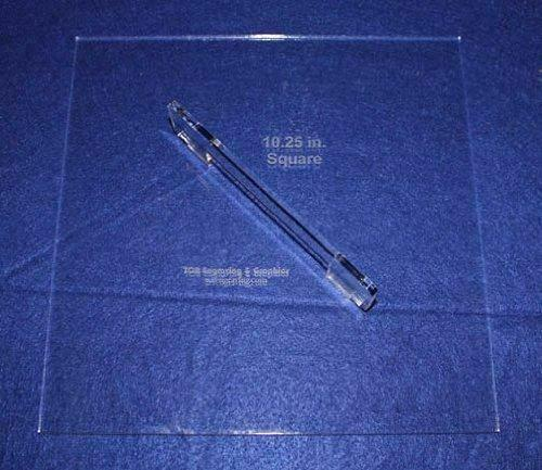 """Fabric Origami Template 10 1/4"""" - Sewing or Quilting Too, w/ Handle 1/4"""""""