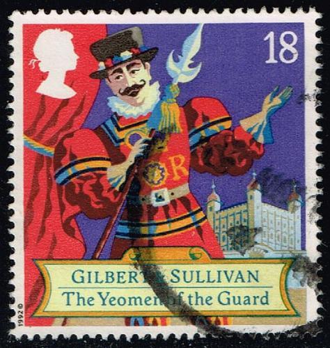 Great Britain #1458 Yeoman of the Guard; Used (0.25) (2Stars) |GBR1458-01XVA