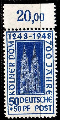 GERMANY Alliiert AmBri [1948] MiNr 0072 ZA ( **/mnh )