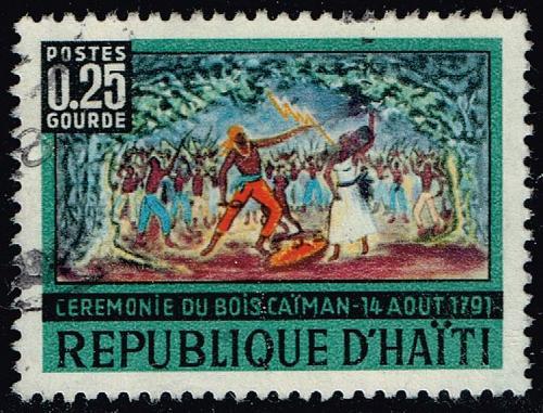 Haiti #582 Caiman Woods; Used (0.25) (5Stars) |HAI0582-01XVA