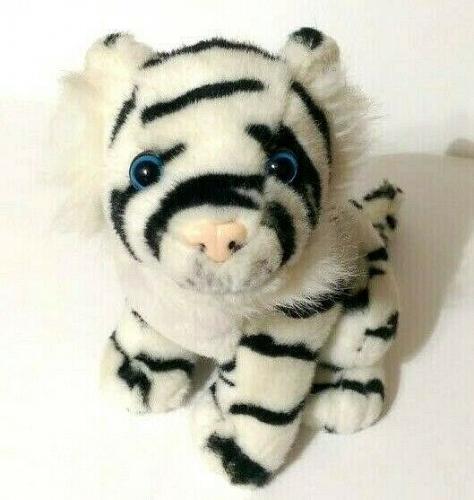 """Busch Gardens Black White Tiger Plush 10"""""""